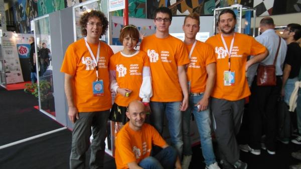"VentolONE team with Julie Watai aka ""hardware girl"""